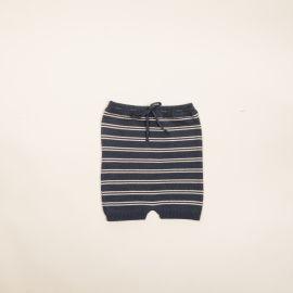 Pantalon rayas azulon/hueso