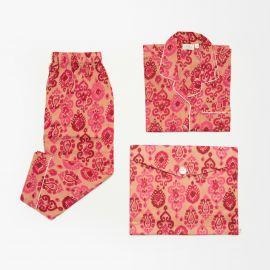Pijama Flor Rosa