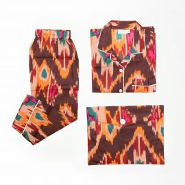 Pijama Ikat Chocolate